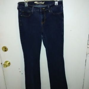 (ON-101) Old Navy Sweetheart jeans. Size 8 Short